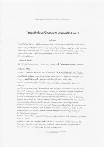 Real-Inflation_2oo9 - (Krankenversicherung, Rentenversicherung, Witwe)