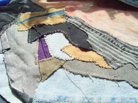 alte jeans verwerten aber wie freizeit kleidung kreativ. Black Bedroom Furniture Sets. Home Design Ideas