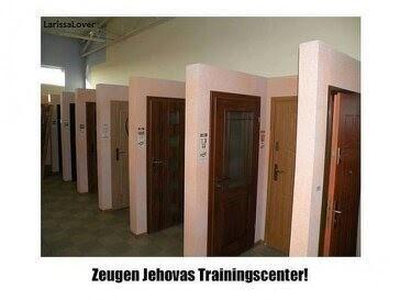 Ironie vom Predigtdienst-von Haus zu Haus! - (Tennis, Zeugen Jehovas)