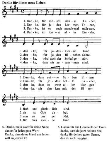 Danke Kirchenlied