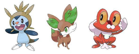 Shiny Starter Pokemon X And Y