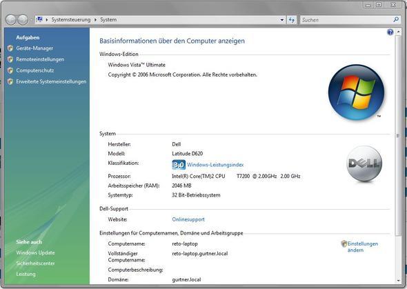 Das Systeminfo - (iPhone, Apple, Windows 7)
