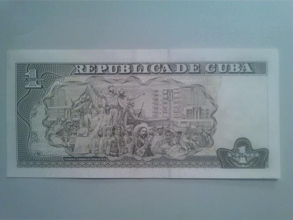 1 Peso Rückseite - (Geld, Bank, Ausland)