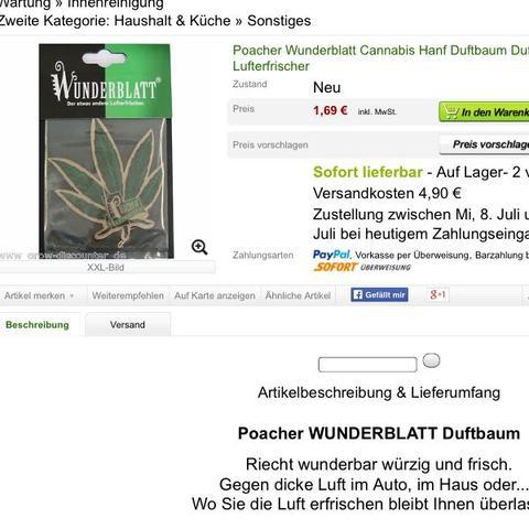 Duftbaum - (Geschenk, Geburtstag)