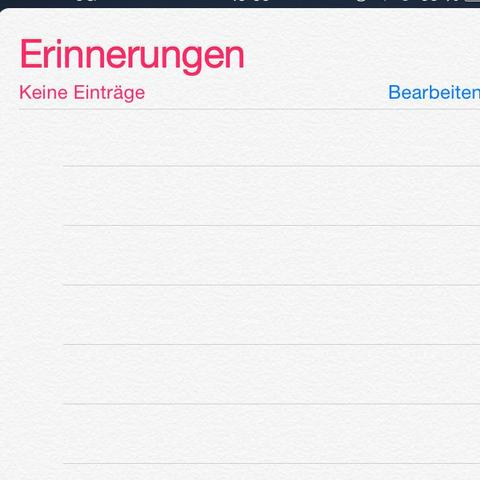 Erinnerung - (Handy, Technik, iPhone)