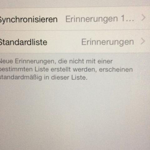 Einstellungen  - (Handy, Technik, iPhone)
