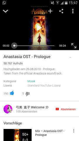 anastasia musik - (Musik, Lied, Song)
