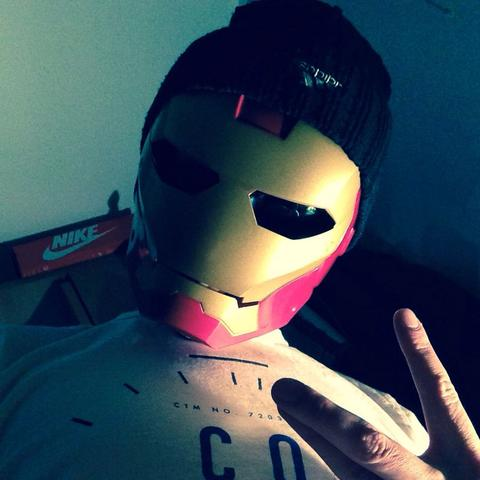 Marvel Iron Man2 Maske Hasbro - (Rap, Lance Butters)
