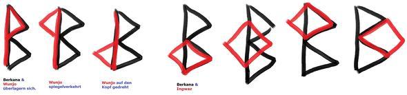binderune passen diese runen optisch f r ein tattoo. Black Bedroom Furniture Sets. Home Design Ideas