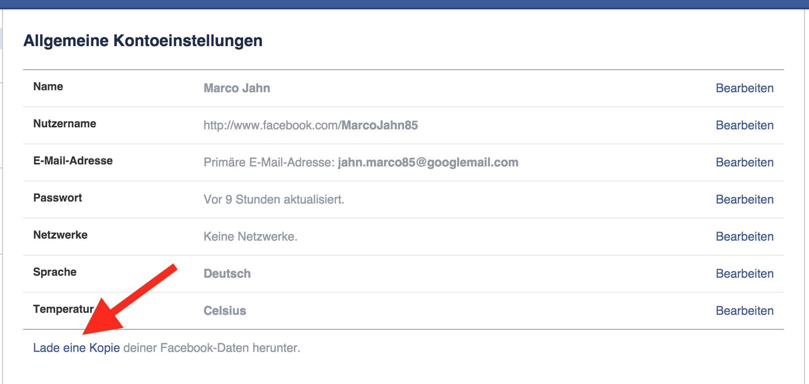 Gelöschte Nachrichten in Fb wieder herstellen? (Facebook