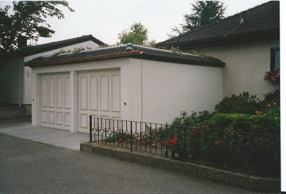 Doppelgarage Mit 2 Toren   (Kosten, Garage)