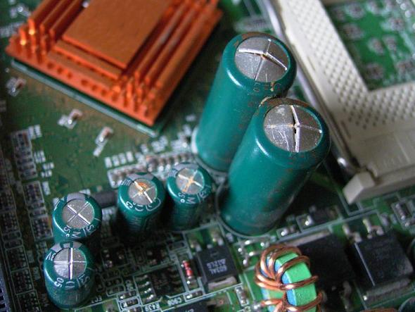 Defekte Elkos - (Computer, PC, Windows)