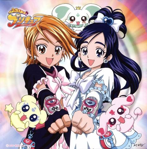 pretty cure - (Anime, Cartoon)