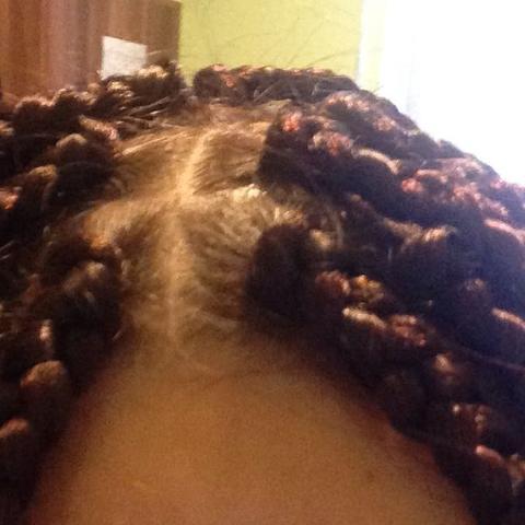 Hallo hier so - (Haare, Oma, braids)
