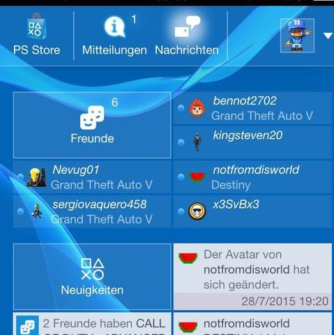 PlayStation App - (PS4, Playstation, spielen)