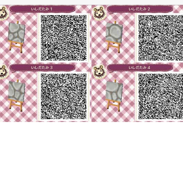 animal crossing new leaf qr codes boden grau
