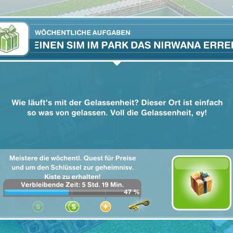 - (Handy, spielen, Sims)