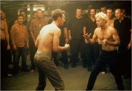 - (Film, Fight Club, Jared Leto)