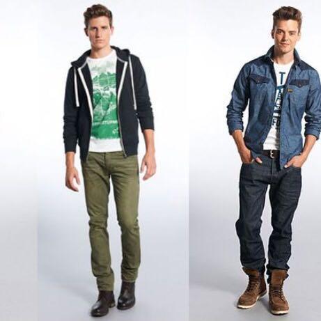 welche outfits sind gerade inn bei jungs mode fashion