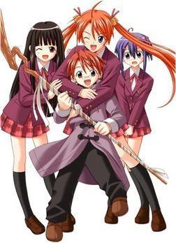 Magister Negi Magi - (Manga, Romantik, Animes)