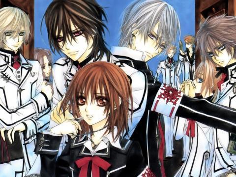 Vampire Knight - (Manga, Romantik, Animes)
