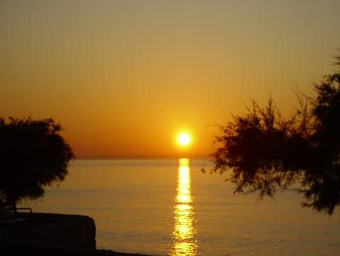 Sonnenaufgang in Cala Millor August 2009, 7.05 Uhr - (Urlaub, Spanien, Ausflug)