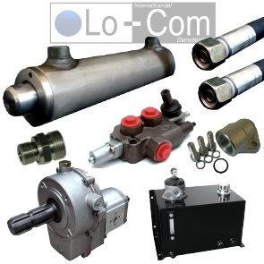 Lo-Com - Onlinefachhandel für Hydraulik Holzspalter Set - (Holz, Splatter, Holzspalter)