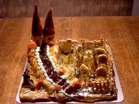 Halloweenkuchen - (Freizeit, Party, Kochen)