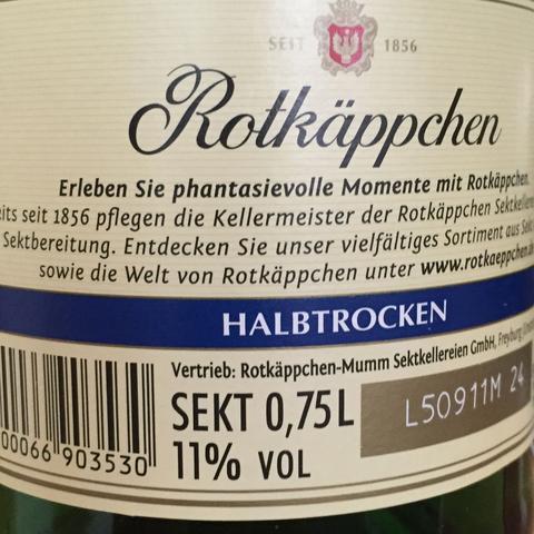 Rotkäppchen Sekt - (Alkohol, Sekt)
