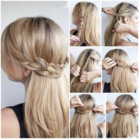 Schone Frisuren Hochzeitsgast Mittellange Haare