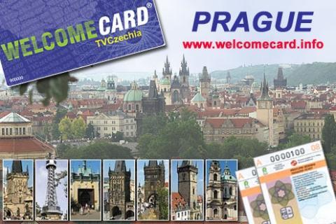 WelcomeCard TVCzechia Prague - (Reise, Sehenswürdigkeiten, Prag)