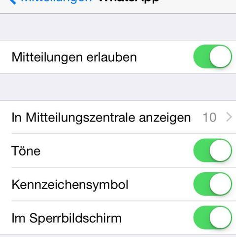 Meine Einstellung  - (Internet, Handy, iPhone)