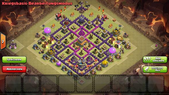 das ist meine ck base - (gutefrage, clash of clans, Base)