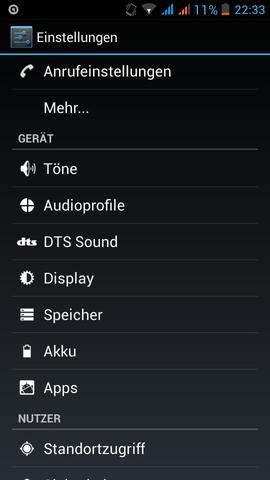 Screen 1 - (Handy, Play Store)