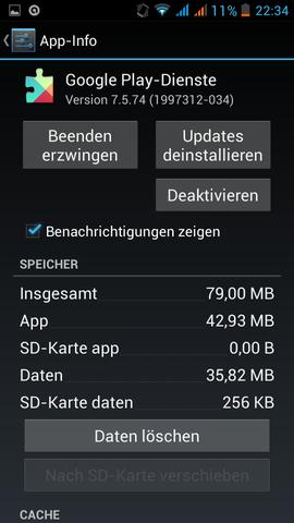 Screen 3 - (Handy, Play Store)