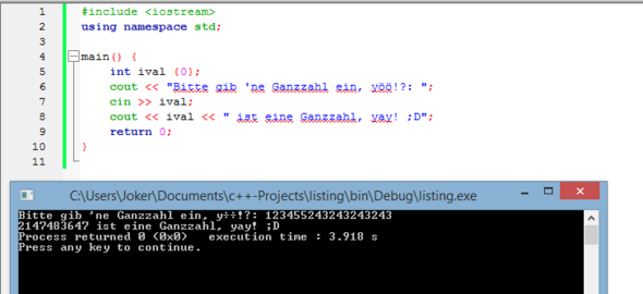 - (programmieren, Programmierung, C-plus-plus)