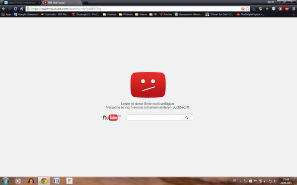 - (Youtube, Tod, Liedsuche)
