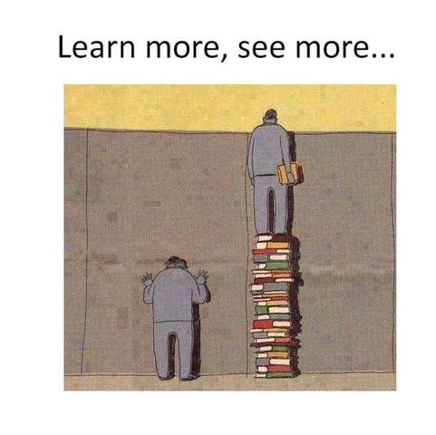 Learn more, see more  - (Schule, Tipps, Abitur)