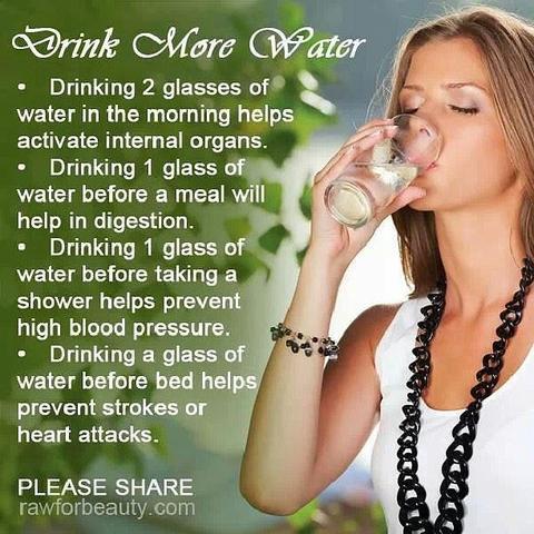 Wasser - (trinken)
