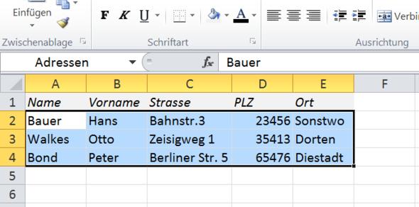 - (Microsoft, Excel)