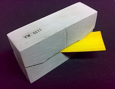 So sieht eine Mold aus... - (selber bauen, Fingerboard)