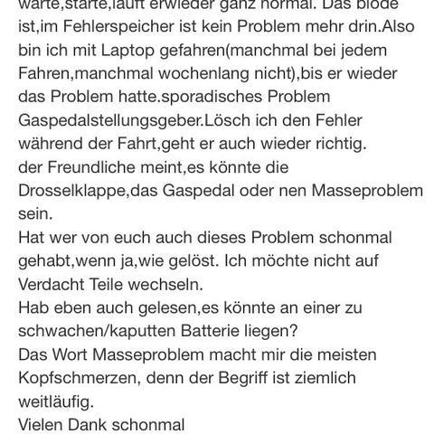Das EPC Problem  - (Audi, A3 p8)