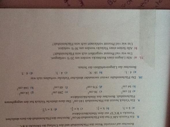 Aufgabe 10 - (Mathe, Mathematik)