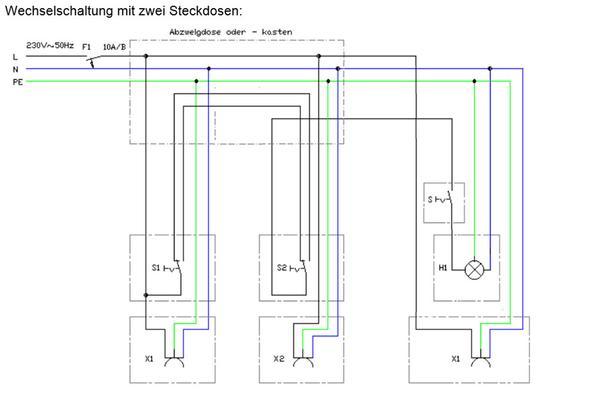 wechselschalter anschlie en wird es so funktionieren energie elektro anschluss. Black Bedroom Furniture Sets. Home Design Ideas