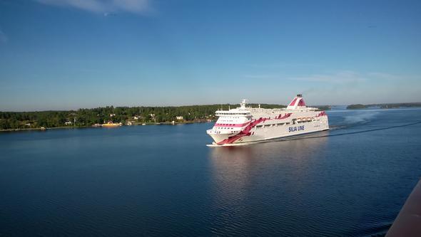 Ein Turku Schiff Anfang August - (Urlaub, Reise, Rat)