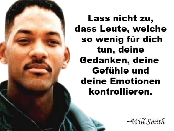 - (Zitat, will smith, deutsche übersetzung)