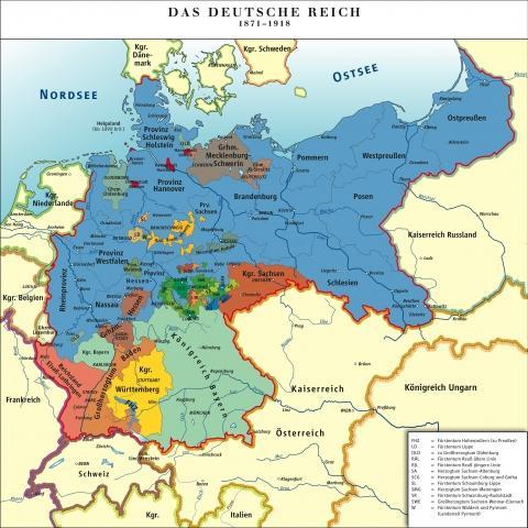 Deutsches Reich 1871-1918 - (Sprache, Geschichte, Politik)