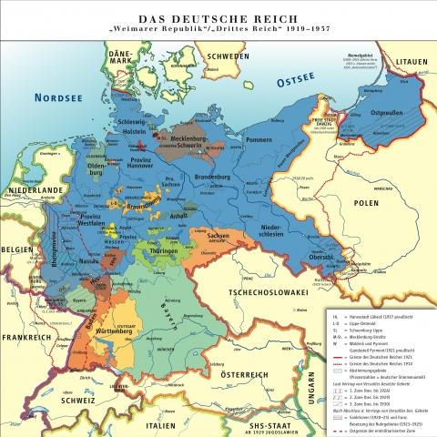 Deutsches Reich 1919-1939 - (Sprache, Geschichte, Politik)