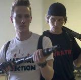 Eric Harris und Dylan klebold in Zero Hour  - (Film, High School, columbine)