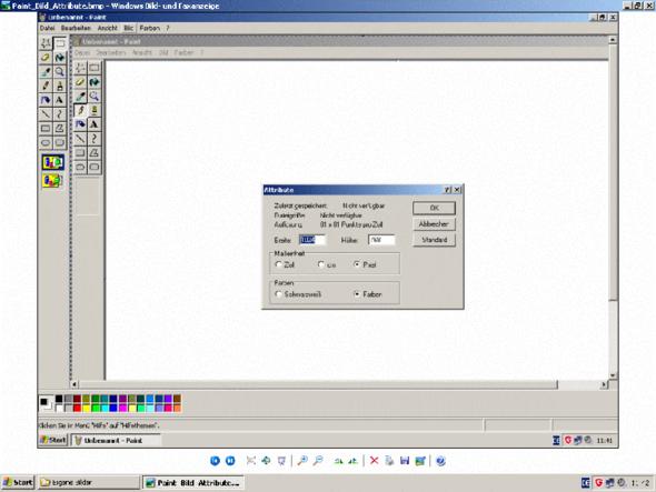 Endlich Korrekte Bildschirmgrösse in Faxanzeige - (Computer, PC, Technik)